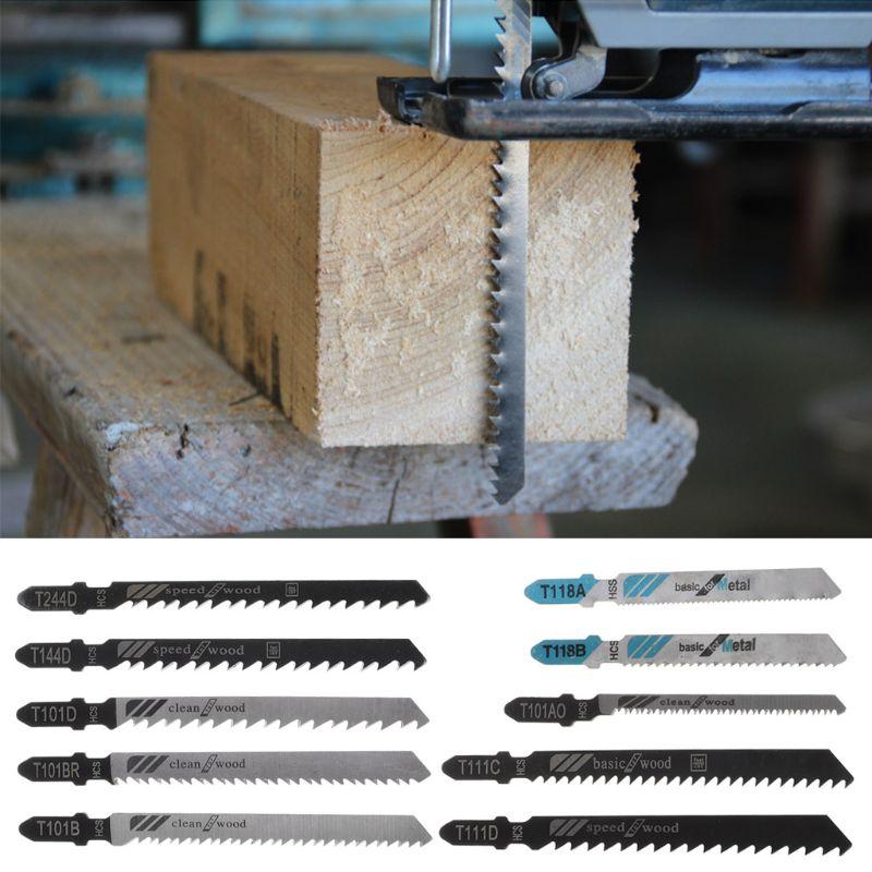 10 шт. Ассорти HSS HCS возвратно-поступательные Лобзики Набор для резки металла пластиковые деревянные наборы