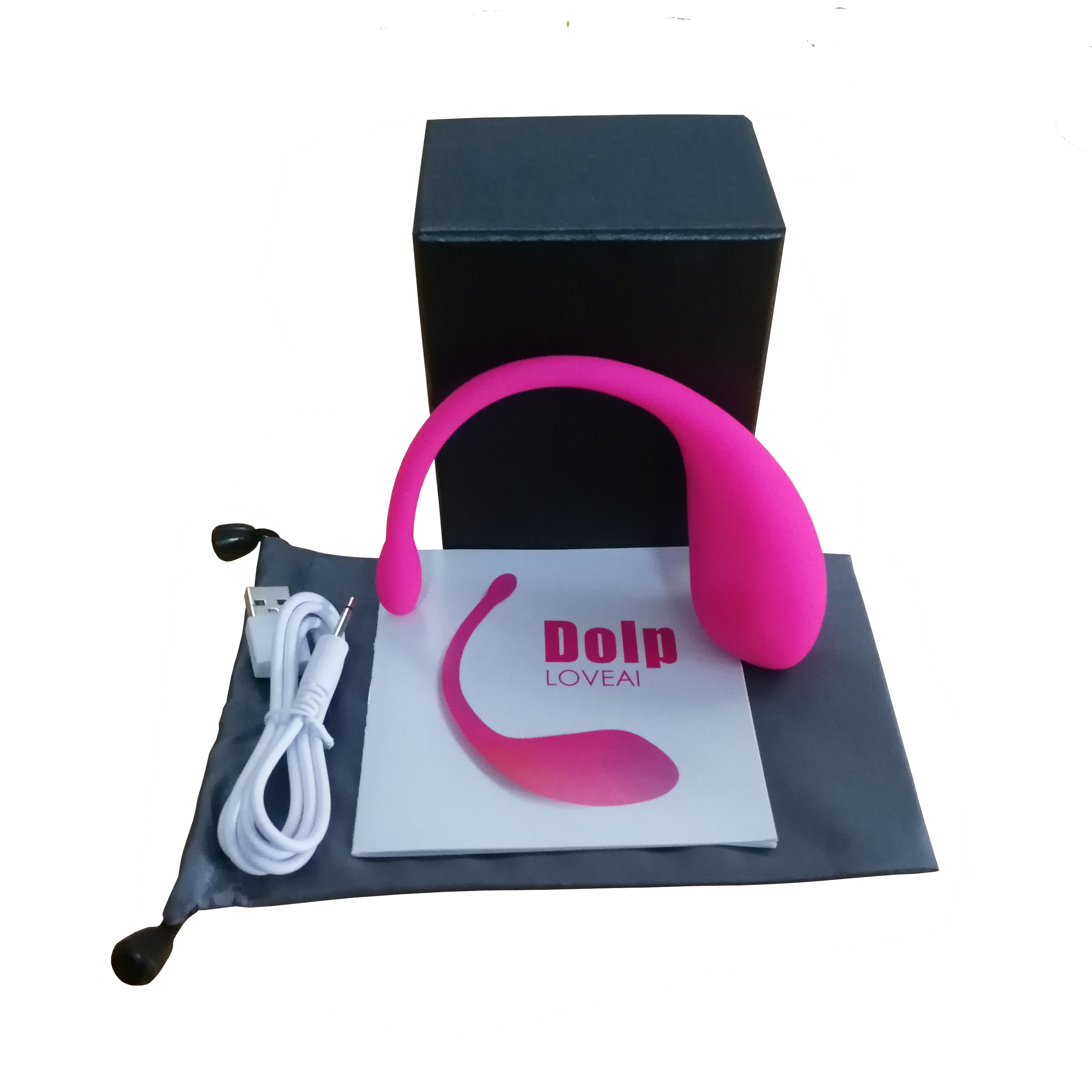 Dolp Wearable Massager, Vibes, App Smart Vibrator Device Bluetooth Remote Control Massaging Tool Waterproof Quiet Powerful enlarge