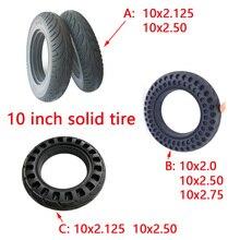 10 pouces solide pneu 10x2.0 10x2.50 Non pneumatique solide pneu pour Scooter électrique Balance voiture électrique vélo roue pièces