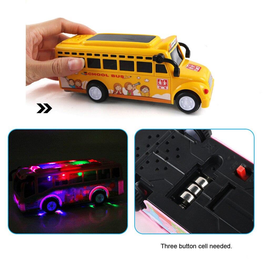 La educación para los niños aprendizaje divertido bebé juguetes juguete de niños y niñas Kits juego de dibujos animados juguetes de fricción de la escuela autobús la educación temprana de los niños