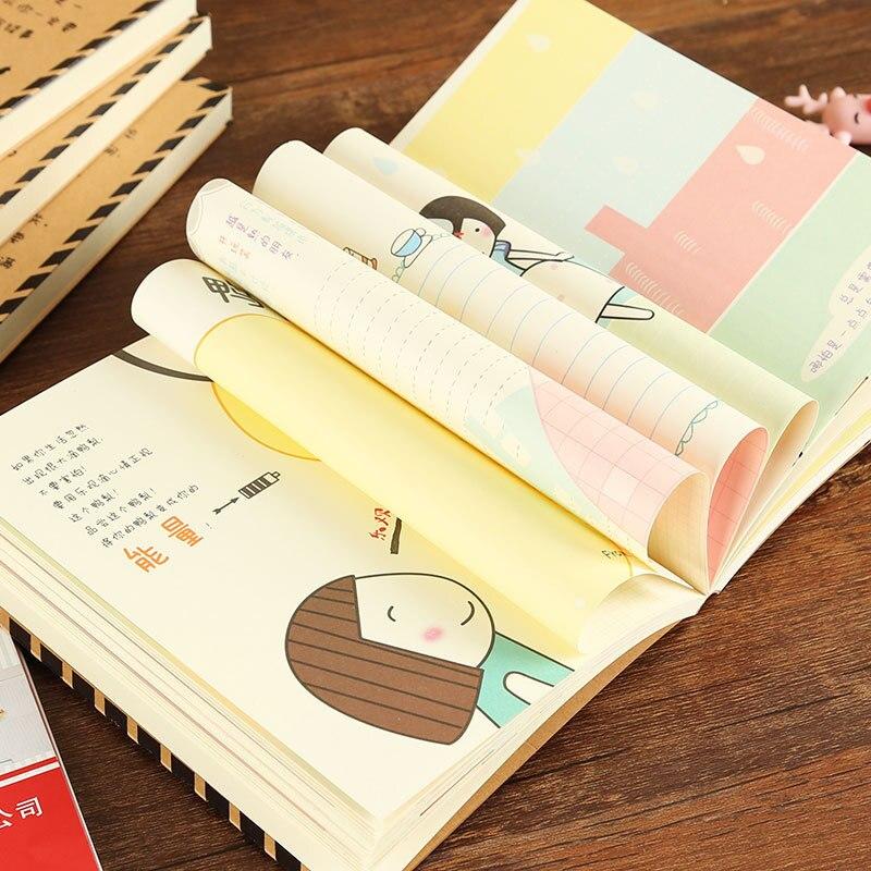 Корейская канцелярская сеточка YHSMTG, красная языковая книга, цветная страница, иллюстрация, ручная книга, креативный блокнот, офисные и школ...