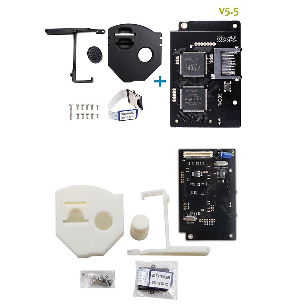 تيار مستمر GDEMU SD بطاقة موسع V5.5 لوحة دارات مطبوعة GDEMU V5.5 لوحة القيادة البصرية ل DreamCast VA1 مجموعة تثبيت بطاقة عن بعد