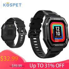 Smartwatch Man KOSPET ROCK Rugged Smart Watch Full Touch Fitness Tracker Bluetooth Waterproof Male W