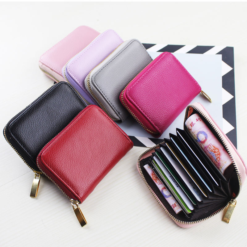 New Arrival Wallet Short Women Female High Quality Zipper Small Mini Card Holder PU Leather Coin Pur