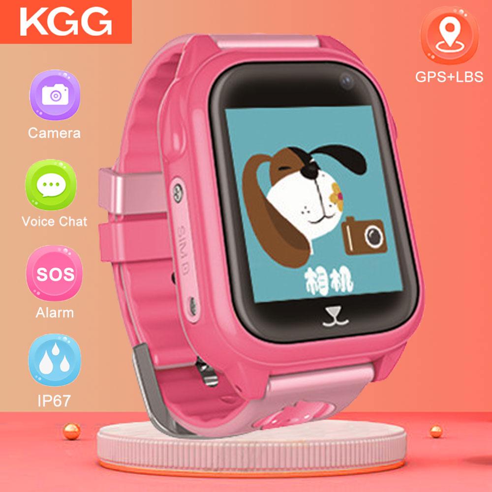 Reloj inteligente M06 con GPS para niños, resistente al agua IP67, reloj inteligente con GPS, teléfono 1,44 , pantalla táctil a Color, SOS, reloj GPS para bebés VS Q90 Q360