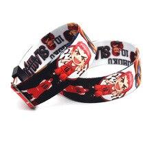 20 pièces/lot SLAM DUNK bracelet ruban réglable bracelets 3D bande dessinée Anime dragonne loisirs Sport Hip Hop accessoires KB2331