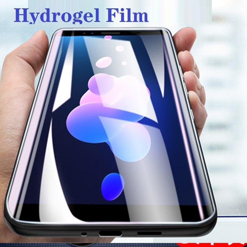 Smartphone para htc desire 728 816 820 825 826 828 830 hd limpar filme de hidrogel para htc u jogar ultra u11 olhos além de não vidro