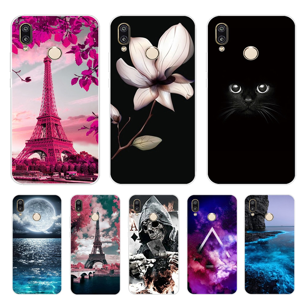 For Huawei P20 Lite Case Silicone Huawei P20 Pro Soft Phone Case For HUAWEI P20lite P 20 Lite Case P