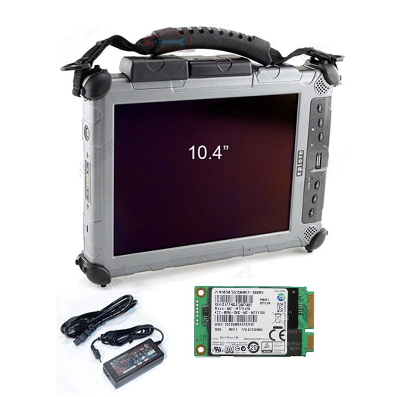 2021 Latest MB Star C4 Software SSD Diagnostic Software Multi-language 2021.06V Installed in Xplore ix104 Tablet Rugged I7cpu&4g