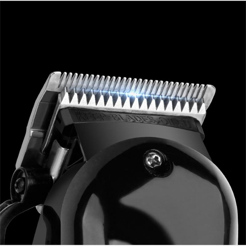 barber professional hair clipper powerful men electric hair trimmer Steel Cutter Head cordless haircutting machine hair cut tool enlarge