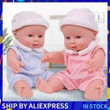 12 pouces infantile Reborn bébé poupée réaliste pleine Silicone jouets corps doux belle Simulation poupées jouets pour filles cadeau Figure Action
