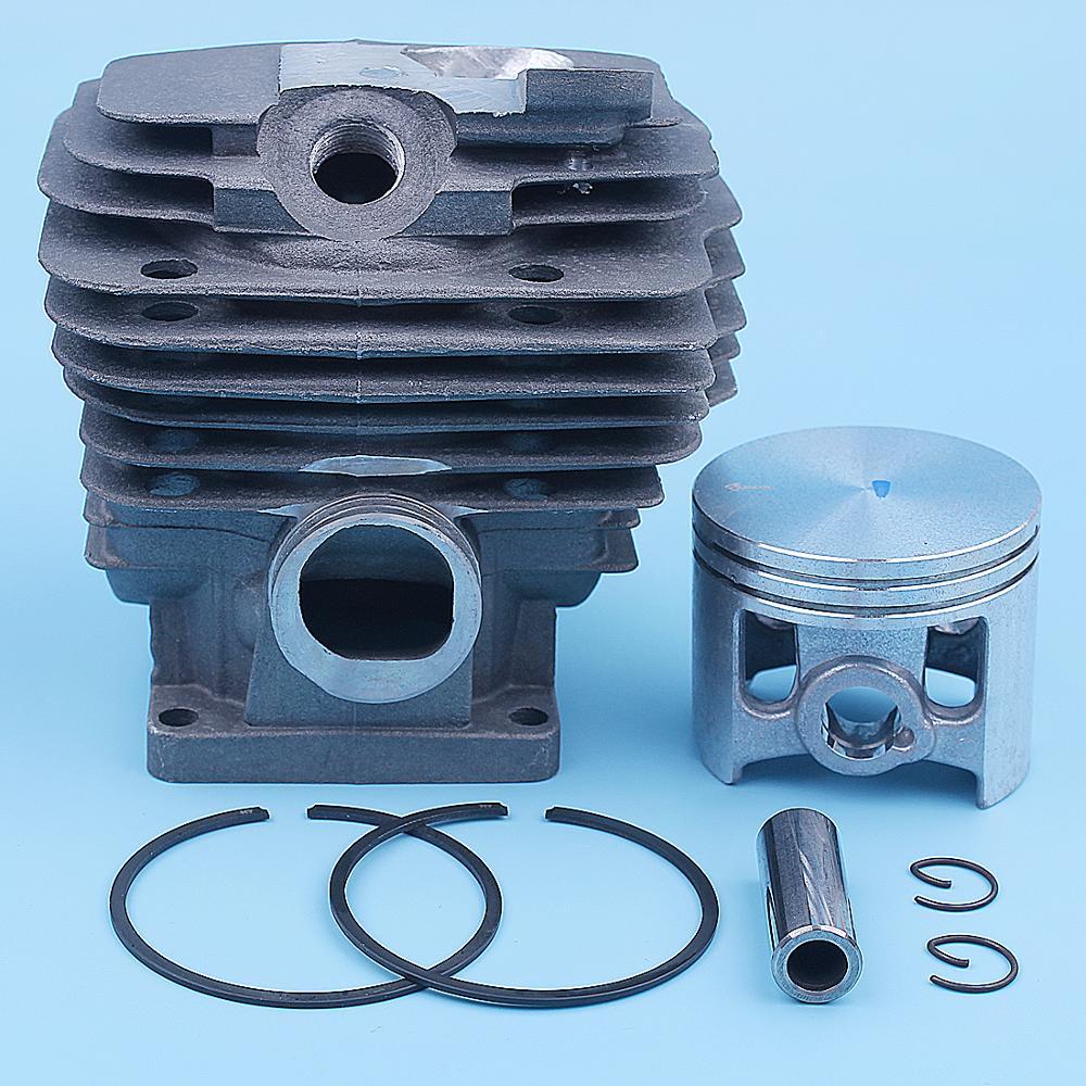 52 мм цилиндр комплект поршневых колец для Stihl MS461 MS 461 бензопила 1128 020 1250 Nikasil покрытием запасные части 12 мм Pin