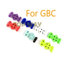 1set For Nintendo Game Boy Color Colour Button Silicone Rubber Pad Conductive A B Select Start Rubber Button For GBC