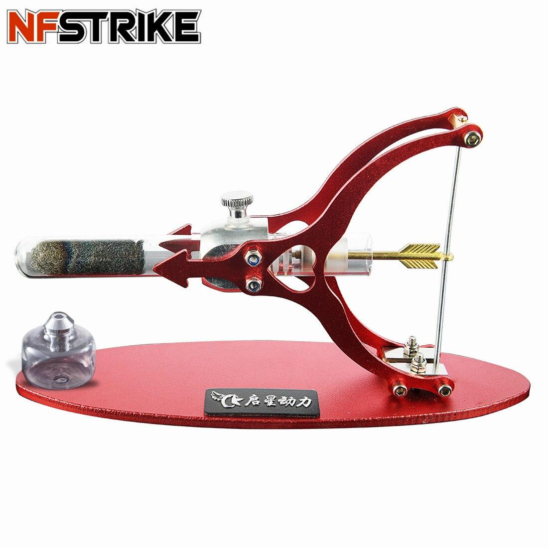 O amor da forma de seta stirling motor motor de combustão externa ciência modelo educacional decoração para criança adulto