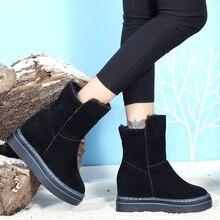 Australiennes femmes unisexe hautes bottes de neige imperméables en cuir dhiver bottes longues marque hiver chaud chaussures de plein air Chaussure U11-33