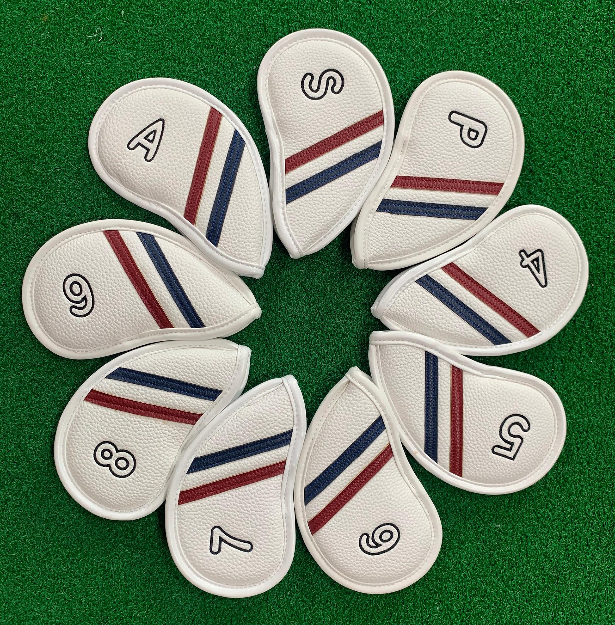 9 шт. (4,5,6,7,8,9,P,S,A) набор защитных колпачков для клюшек