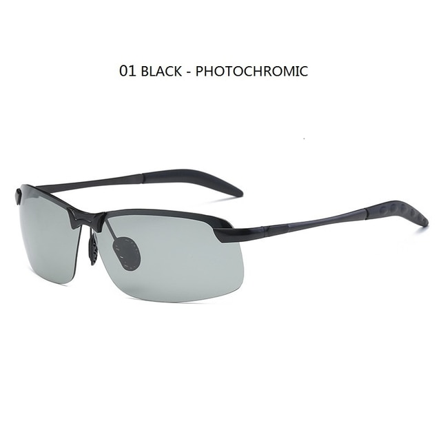 Фотохромные Солнцезащитные очки Мужские поляризационные очки для вождения Хамелеон мужские Меняющие цвет солнцезащитные очки дневное ночное видение водительские очки Аксессуары для одежды     АлиЭкспресс