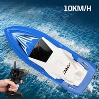jjrc s5 147 rc boat 2 4g radio controlled boats 10kmh high speed with dual motor racing rtr ship model 20mins for kids boy