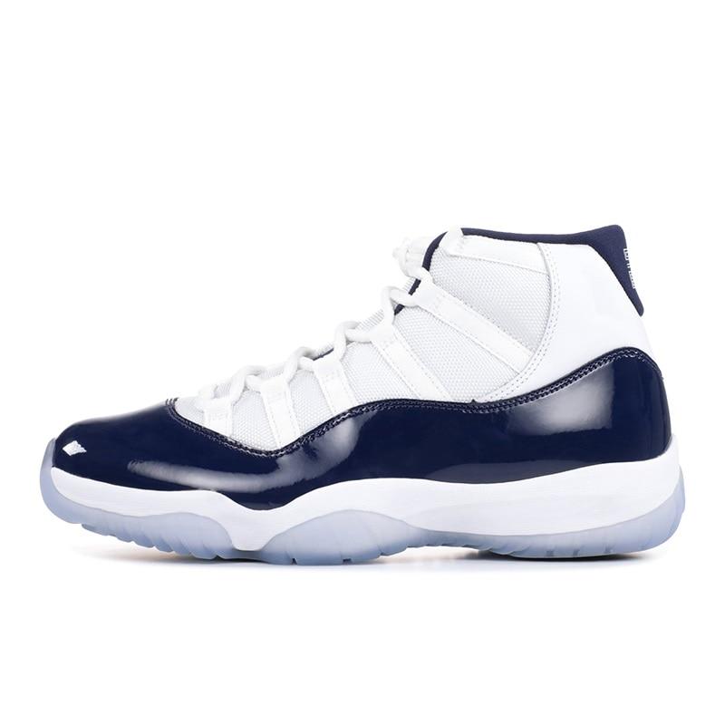 Zapatillas de baloncesto Retro Jordam de marca para hombre y mujer, zapatillas de deporte del baloncesto transpirables de alta calidad, 11 zapatillas de deporte duraderas para hombre