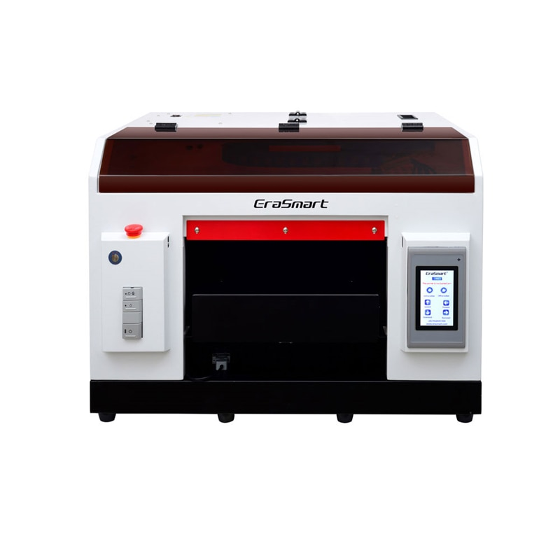 LY A32 3040 pantalla táctil completa automática plana UV/DTG impresora de inyección de tinta máquina 1390 impresión cabeza rayos infrarrojos medida