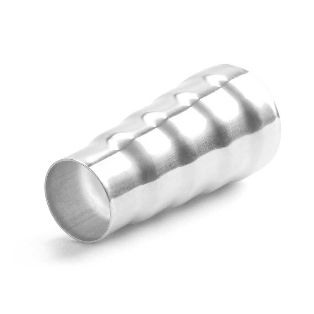 Reductor conector tubo cono práctico de acero inoxidable accesorios de acero Durable tubo 5 Paso de adaptador de coche de sustitución ajuste directo