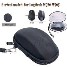 로지텍 M720 M705 트라이 애슬론 하드 케이스 가방 Logitech M720 M705 트라이 애슬론 멀티 장치 무선 마우스 케이스