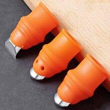 Protector de dedo de silicona con hoja para frutas y verduras, Protector de dedo, utensilios de cocina, accesorios de cocina, 1 ud.