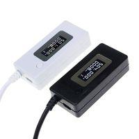 ЖК-дисплей USB измеритель напряжения/мощности тестер er мультиметр тестирование скорости зарядных устройств кабелей емкости внешних аккумул...