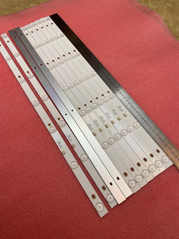 Nuevo 30 unids/lote 7LED tira de LED para iluminación trasera para 32PHF3001 32PHF3061 32PHF3021 32PHF5011 GC32D07-ZC21FG-15 26 RF-EG320B32-0701S-07A1