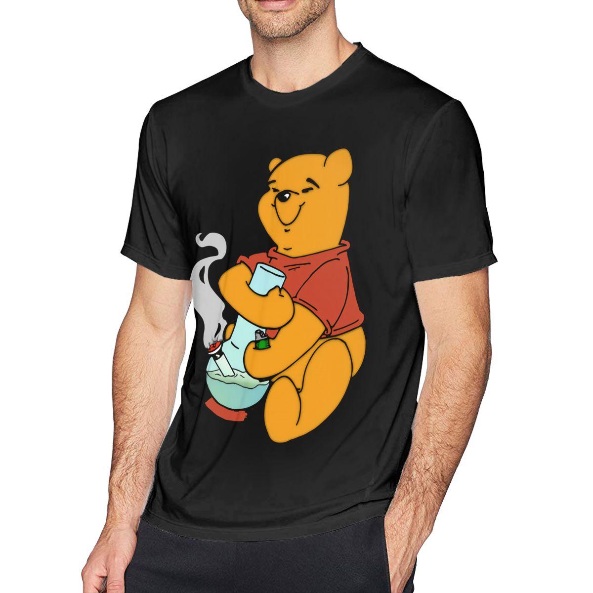 Camiseta Honey Pooh The Pot Head Camiseta Hombre 4xl camiseta 100 algodón lindo estampado camiseta manga corta