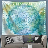 silstar tex multi colored tapestry hot sell tapestry indian mandala tapestry wall hanging hippie hanging tapestry 3d upholstery