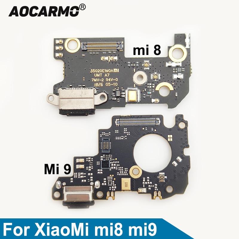 aocarmo-for-xiaomi-mi-8-9-mi8-mi9-usb-fast-charging-port-connector-charger-plug-dock-mic-microphone