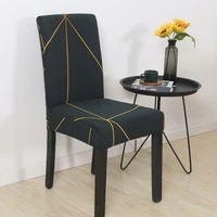 geometry stretch chair cover spandex elastic slipcovers chair seat covers for dining room banquet hotel restaurant kitchen