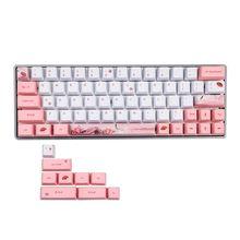Clavier de Sublimation de colorant mignon Keycaps PBT OEM profil Keycap pour GH60 GK61 GK64