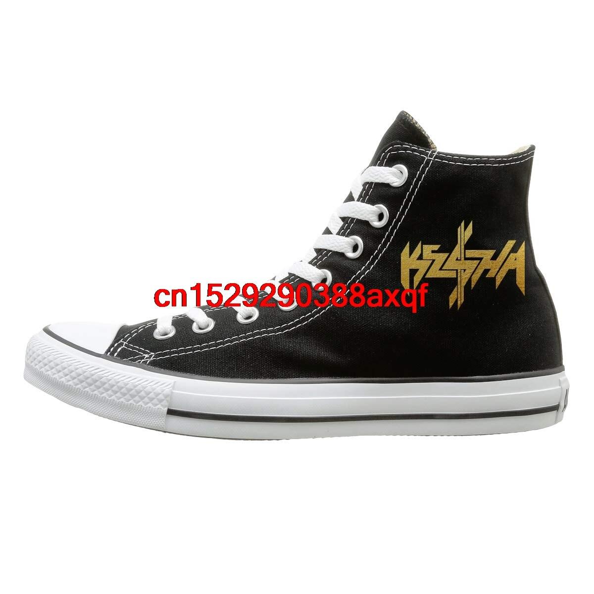Women Men Sneakers  Teenagers Boys and Girls Sports Shoes Casual Shoes Unisex Ke$ha Kesha High-top Sneakers Canvas Shoes