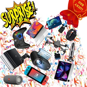 Random Style Interesting Lucky Box Drones Phone Headset Controller Watch and More For Adult Surprise Holidays Birthday Best Gift