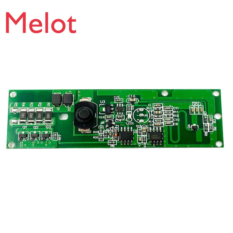 3,2v3.7v lámpara solar de pared inducida por radar, placa de circuito, lámpara solar, placa de control para panel de circuito con Kit de interruptor