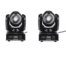 2 pièces/65W LED lumière principale mobile RGBW faisceau 60W DMX512 éclairage de scène led mini lumières principales mobiles