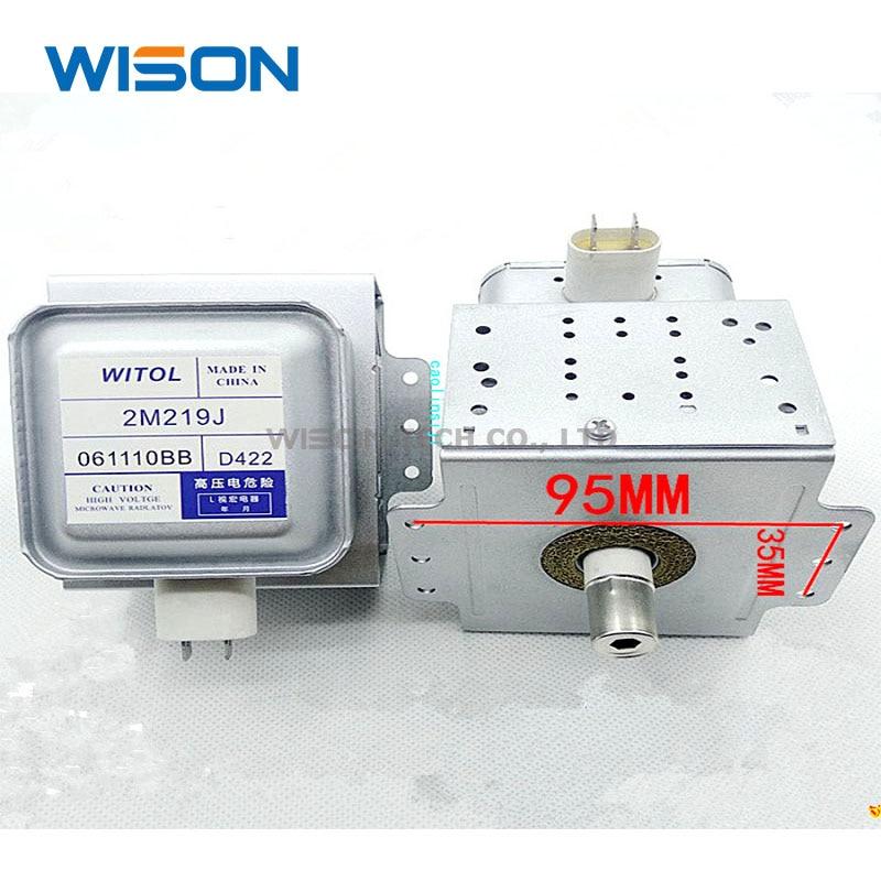 2M219J 2M236-M1 Микроволновая печь магнетрон WITOL 2M219J для Midea Galanz микроволновые детали оригинальные запасные части доступ