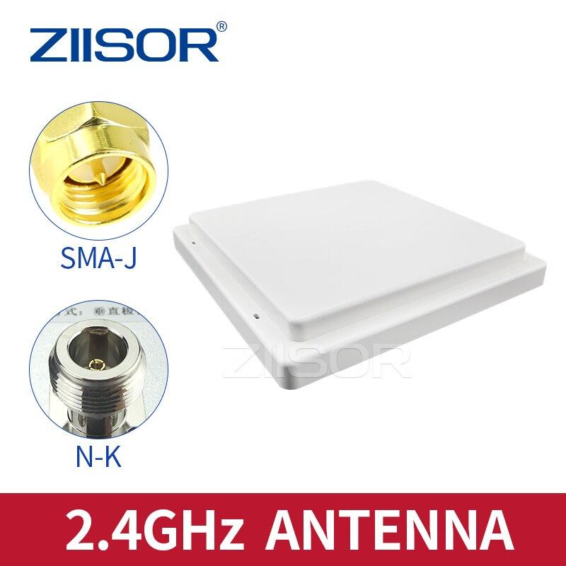 هوائي لوحة اتجاهي 2.4G ، خارجي ، مقاوم للماء ، 2.4 جيجا هرتز ، وحدة لاسلكية ، اتصال بعيد المدى ، علامة إلكترونية RFID