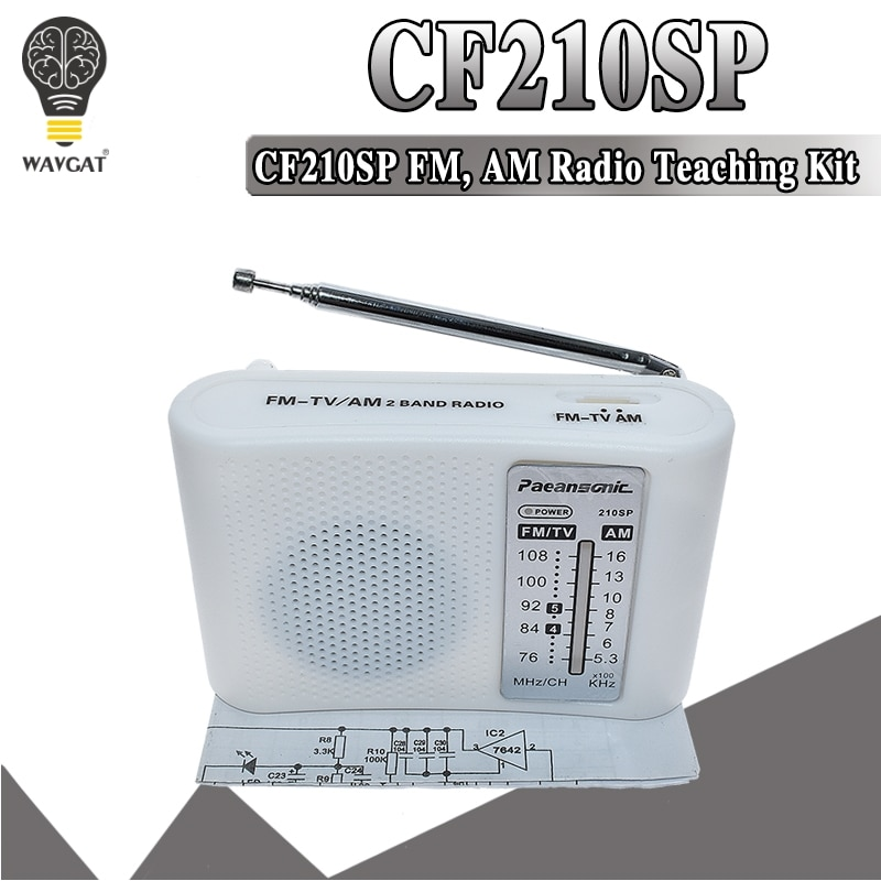 CF210SP AM/FM Stereo Radio Kit DIY Electronic Assemble Set For Learner July DropShip laboratory