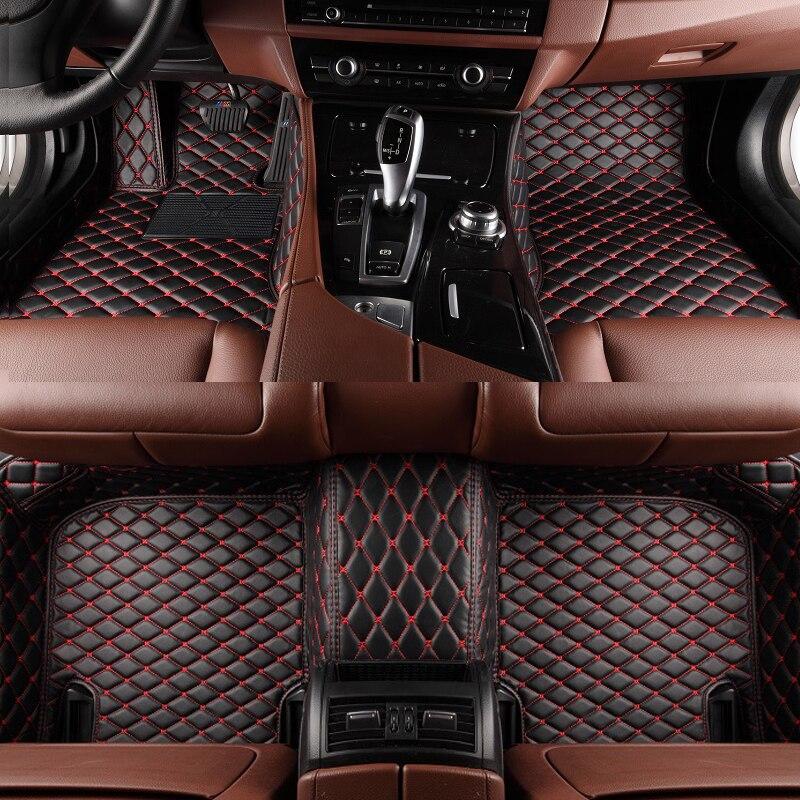 Tapis de sol de voiture ZS HS   MG3 MG3SW MG5 MG6 MG7 MGZS GT GS 2020, accessoires de style de voiture