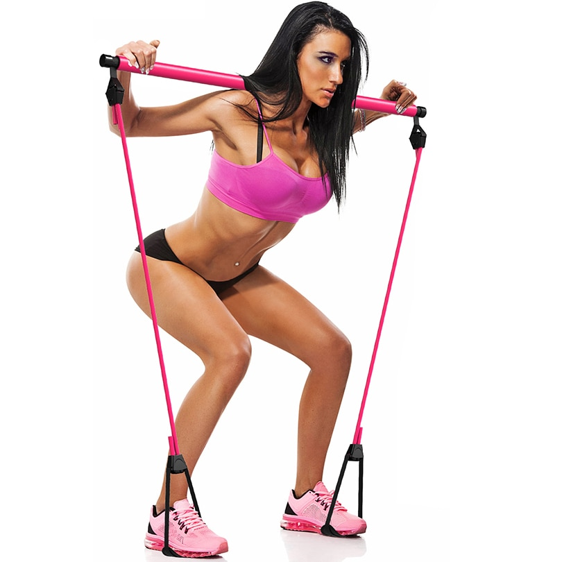 Bandas de resistencia para hombre y mujer, equipo de gimnasia para el hogar, Gimnasio, Pesas, gimnaso, Yoga, entrenamiento, expansor Trx elásticas, ejercicio de goma