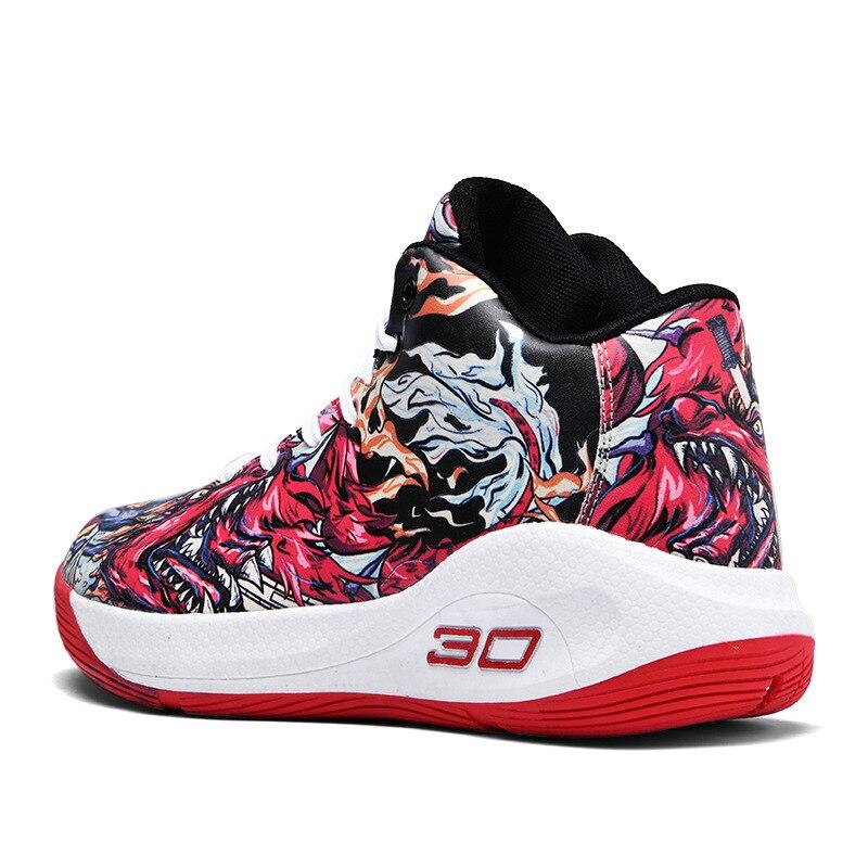 ¡Novedad de 2020! Zapatillas de baloncesto de gran tamaño 45, zapatillas de deporte deportivas de estilo callejero para hombre, botas Unisex