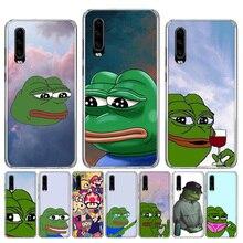 Anime Japanese attack on Titan Sad Frog pepe meme Soft TPU Case For Huawei Honor 10 9 lite P Smart Z Plus 2018 8S 8X Y5 Y6 Y7 Y9