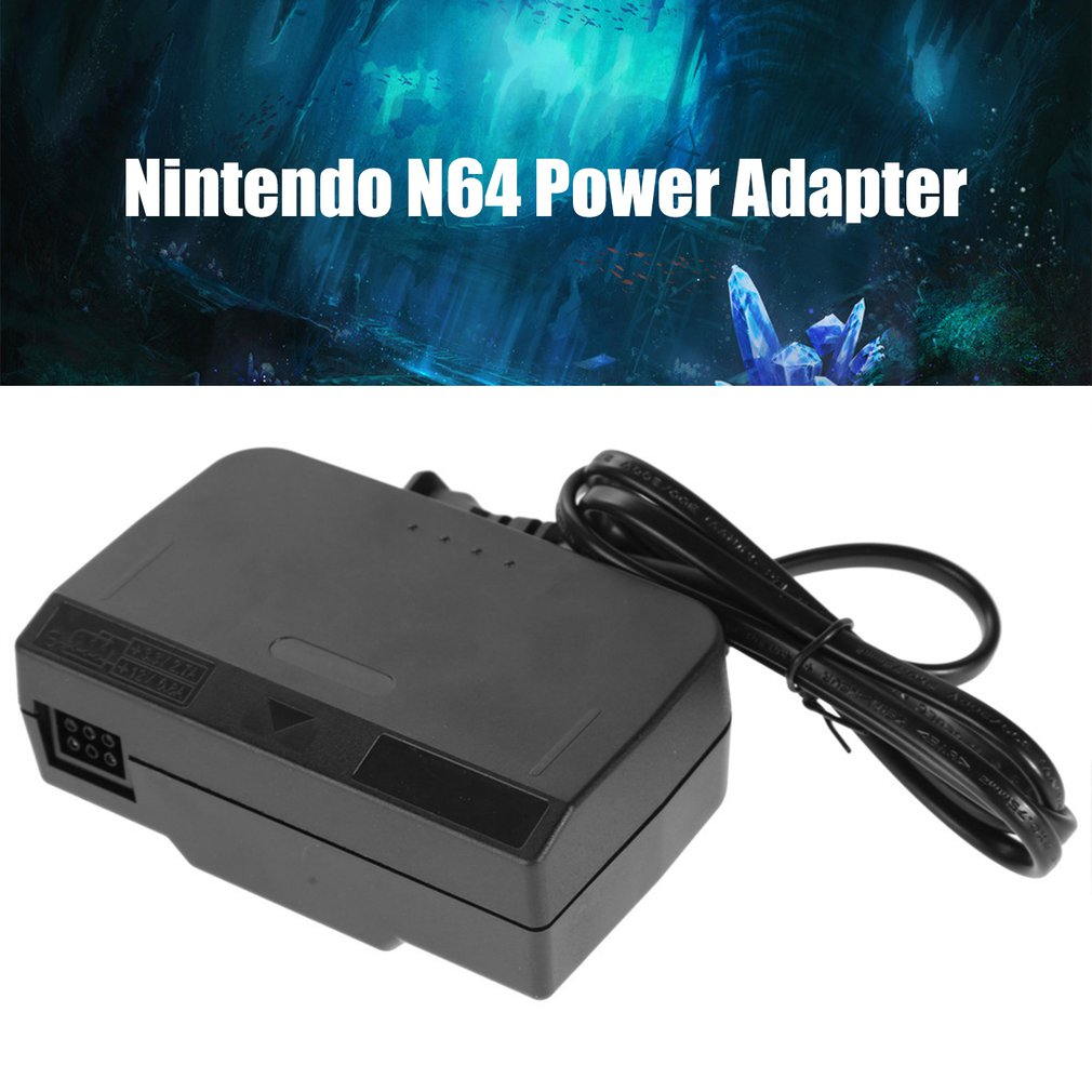 For Nintendo N64 AC Adapter Charger Nintendo 64 US Regulatory Power Adapter Power Supply Cord Charging Charger Power Supply power supply halogen free european 65w ac adapter with european power cord kit