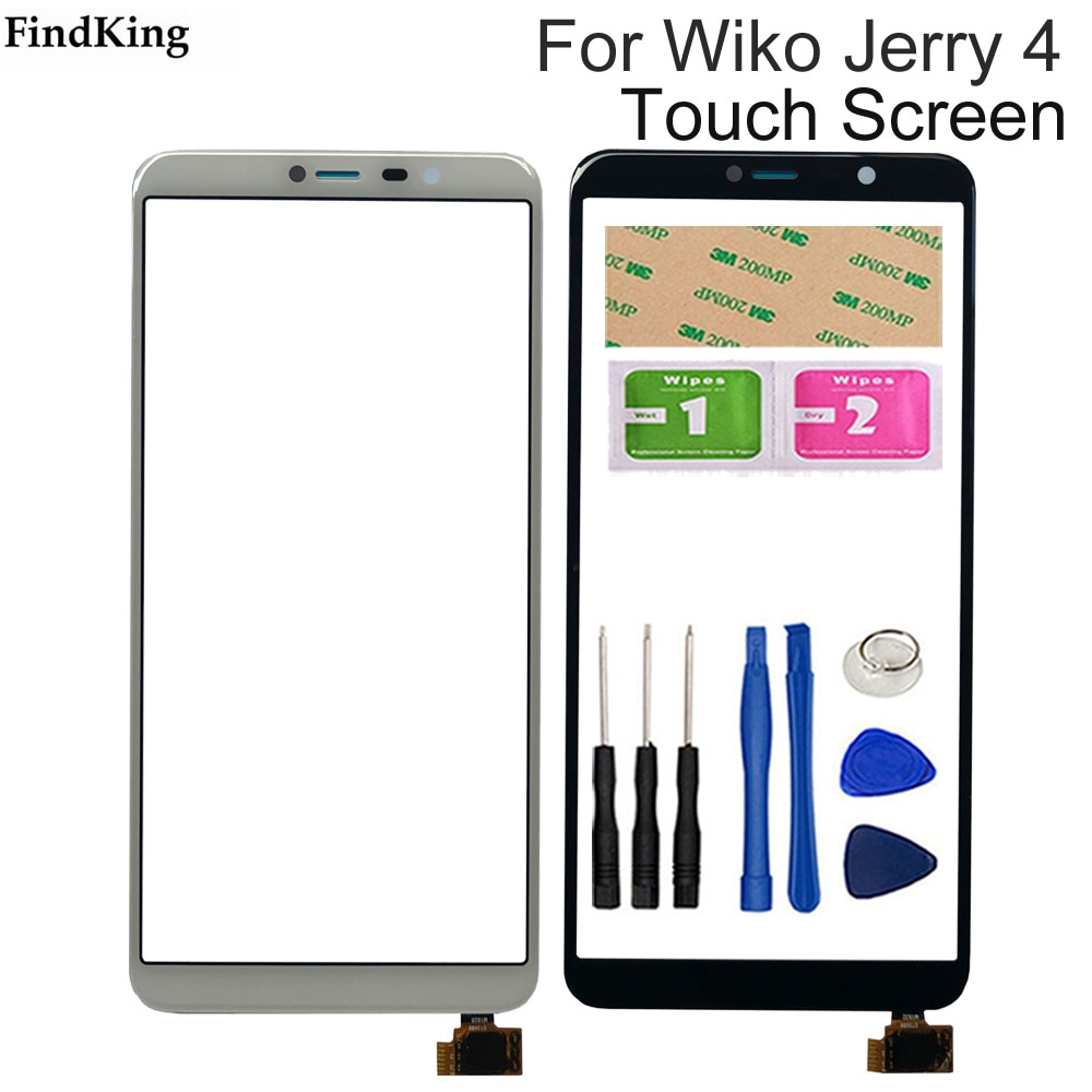 5.99inch Mobile Phone Touch Screen For Wiko Jerry 4 Touch Screen Digitizer Sensor Touch Panel Phone