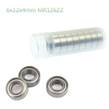 10pcs 6x12x4mm MR126ZZ Metal Shielded Ball Bearings for RC Toy Racing Car Parts