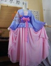 Anime Mo Dao Zu Shi Jiang Yanli Cosplay Costume Anime Grandmaster of Demonic Cultivation Women Childhood Cosplay Costumes Hanfu