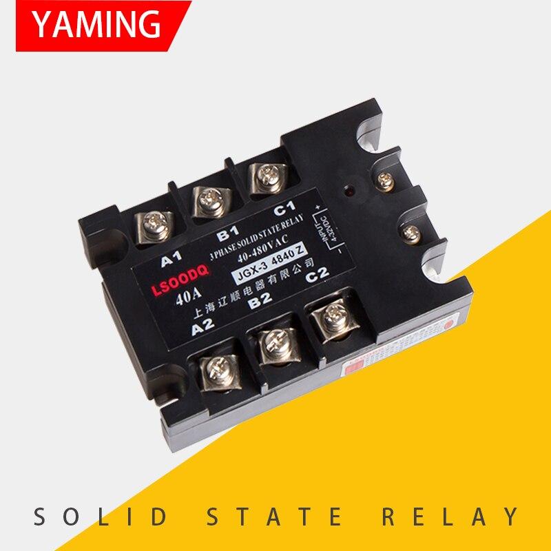 JGX-3 4825 DC AC Control relé de estado sólido 10A 25A 40A 60A 80A 100A 120A 150A